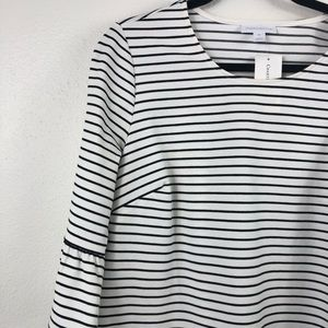 NWT classy chic striped top